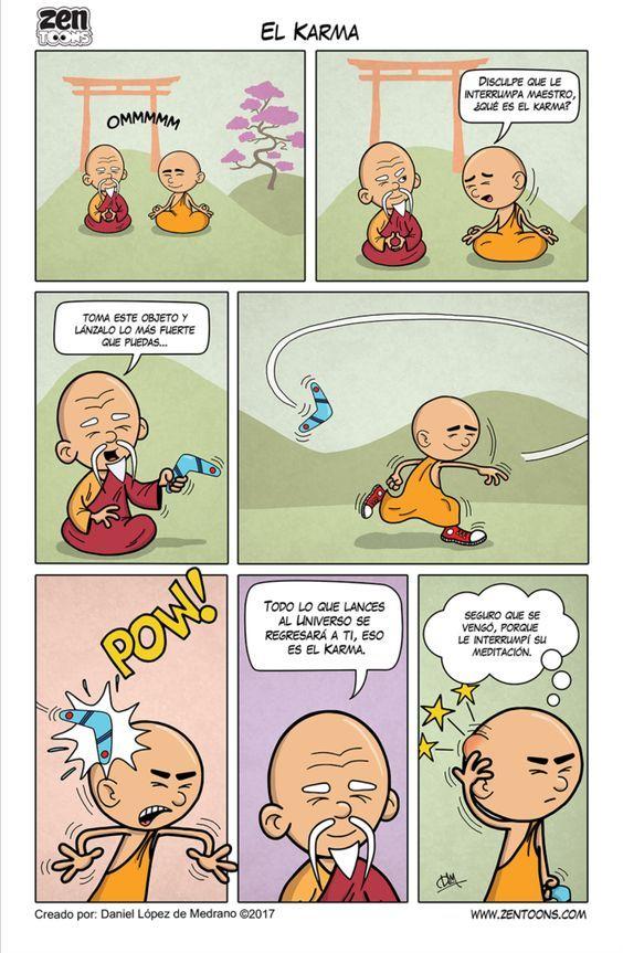 002. ZEN TOONS: El Karma – Zen Toons – Sabiduría Ancestral en Cartoons