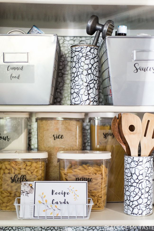Organize Your Pantry And Keep It That Way With These Tips Best Of