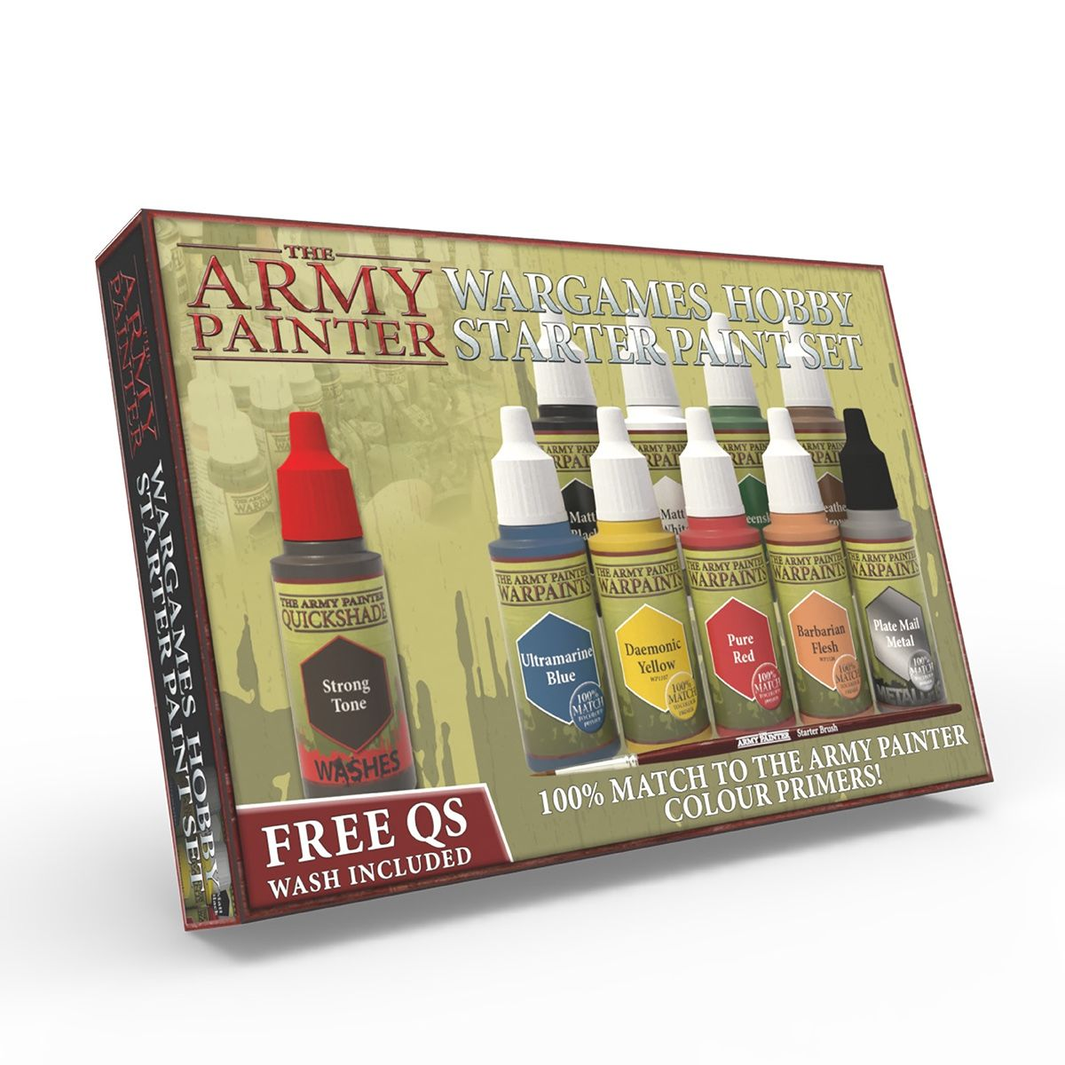 The Perfect Starter Paint Set For Any Wargaming System All The Base Colours You Need For Painting Miniatures In This Set You Will Find 10 Of The Most Needed C