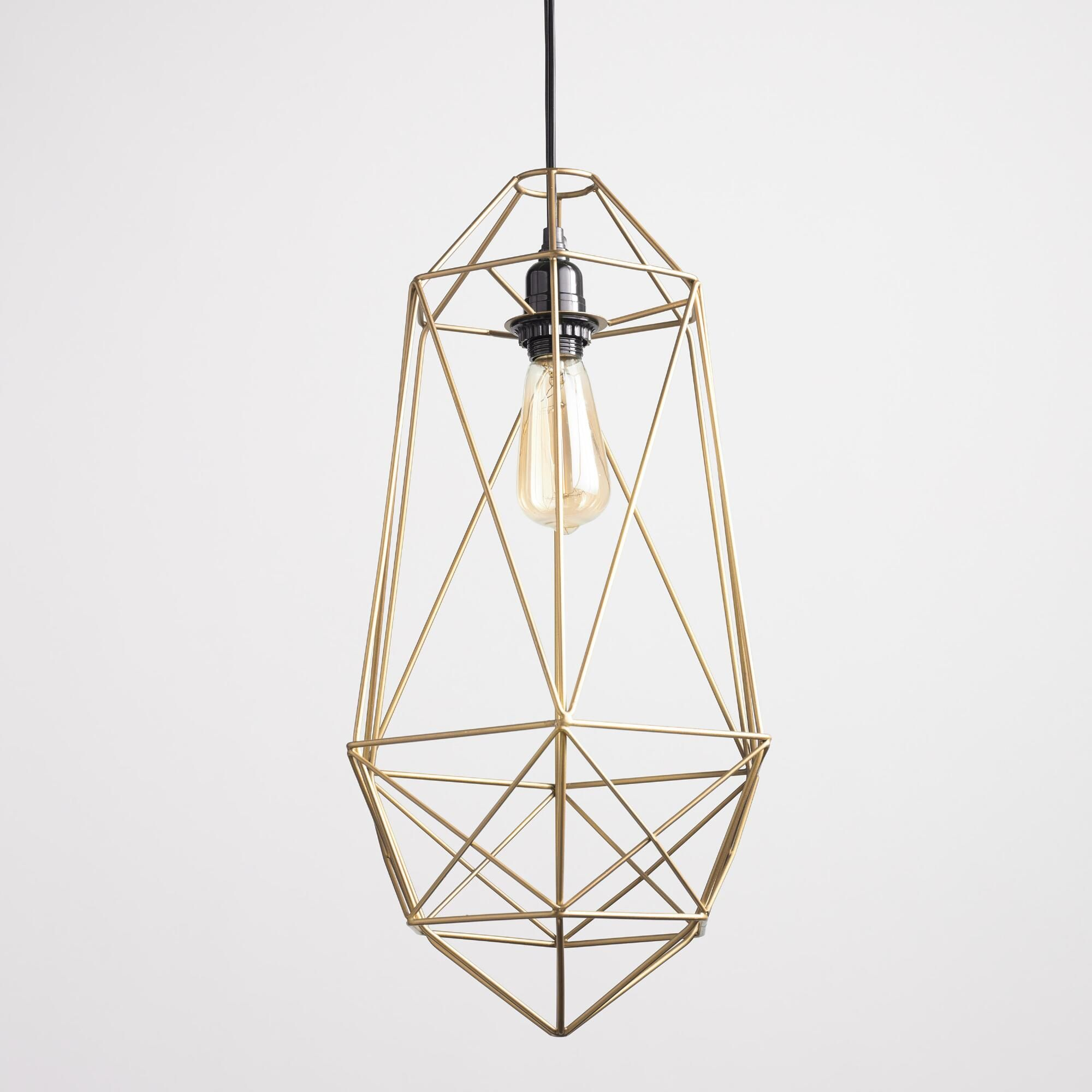 Our Exclusive Collins Lantern Brings Classic Good Looks: Crafted Of Iron Wire With A Sophisticated Antique Gold