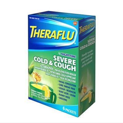Theraflu Nighttime Severe Cold Cough Relief Powder