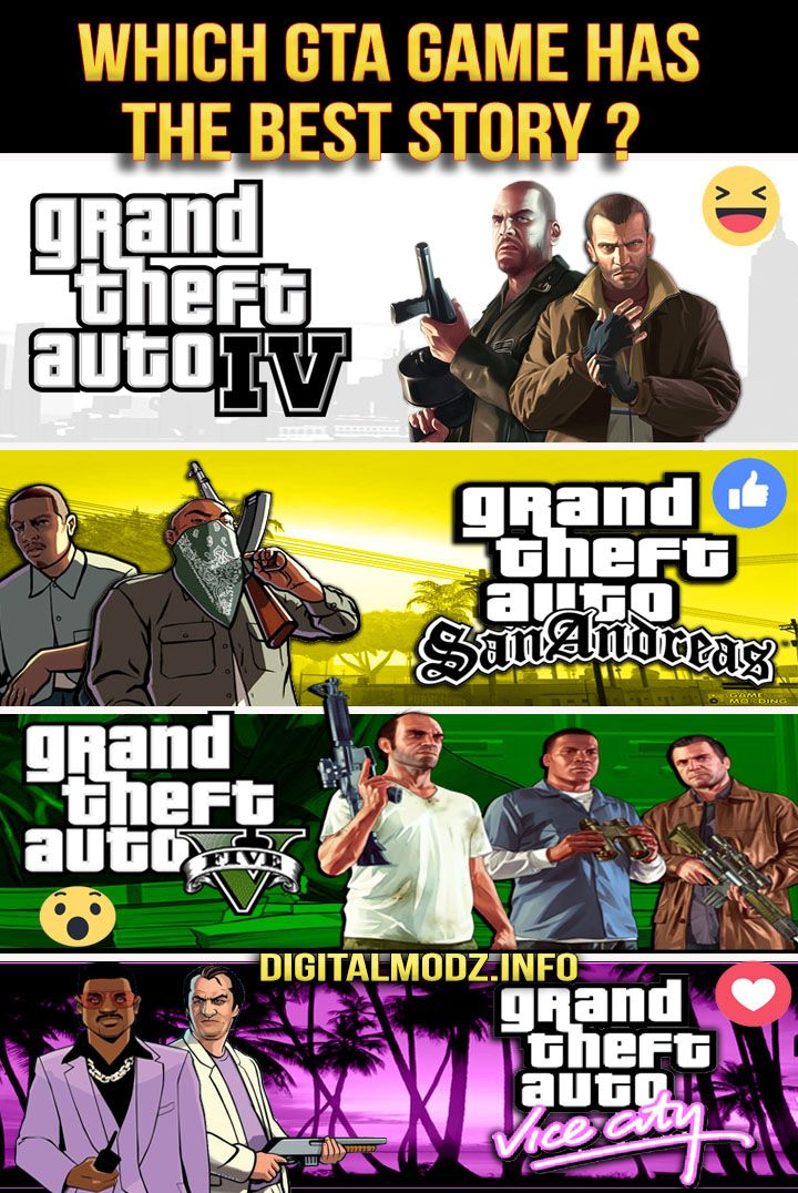 which gta has the best story ? Grand theft auto , Gaming