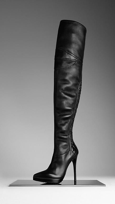 Boots For Women Burberry United States Boots Burberry Boots Leather Biker Boots