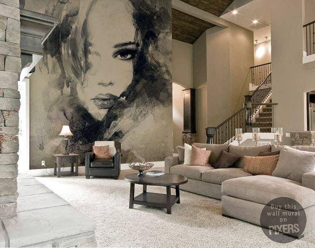 Pin By Nieves Robles On Murales Pinterest Interiores Murales