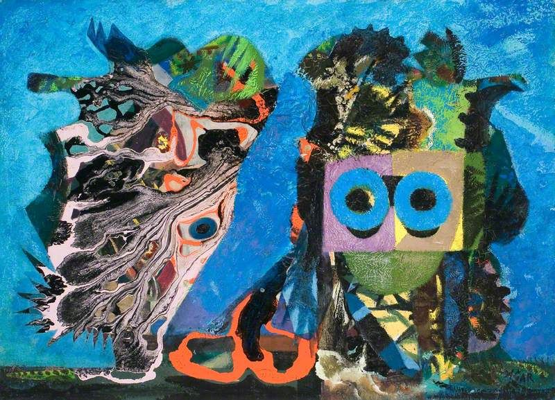 Eileen Agar And The Masterpiece In The Attic Art Uk In 2020 Art Uk The Masterpiece Moose Art