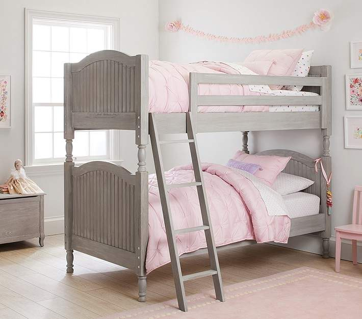 Pottery Barn Kids Twin Over Twin Bunk Bed Luxury Firm Mattress
