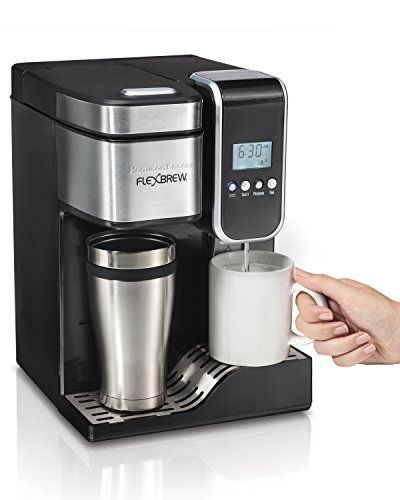 Hamilton Beach Single Serve Coffee Maker Programmable Flexbrew