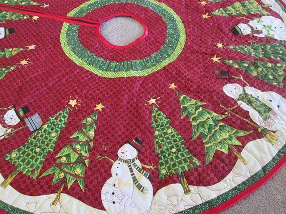 Juletræs tæppe