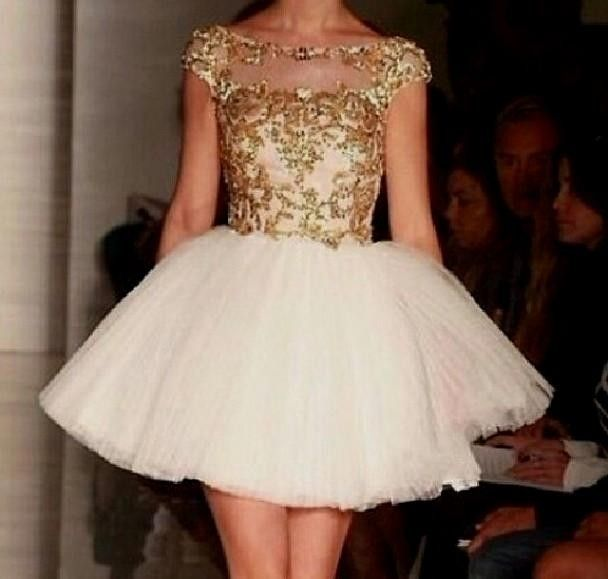 gold and white quinceanera dresses tumblr World dresses | DATE ...