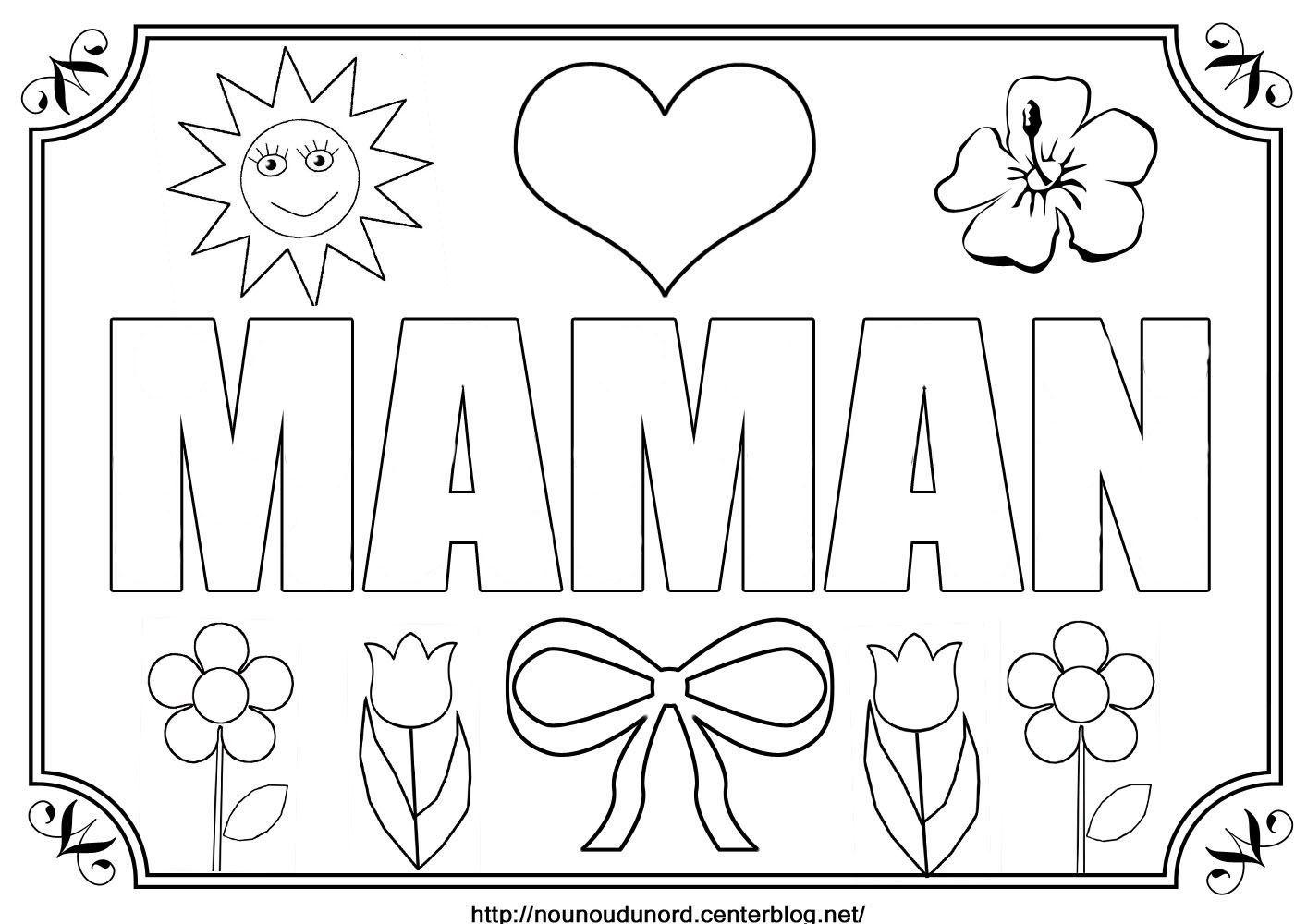 Dessin Pour Anniversaire Maman