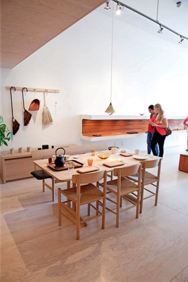 Clean Modern House With Laminated Plywood Floor Mjolke