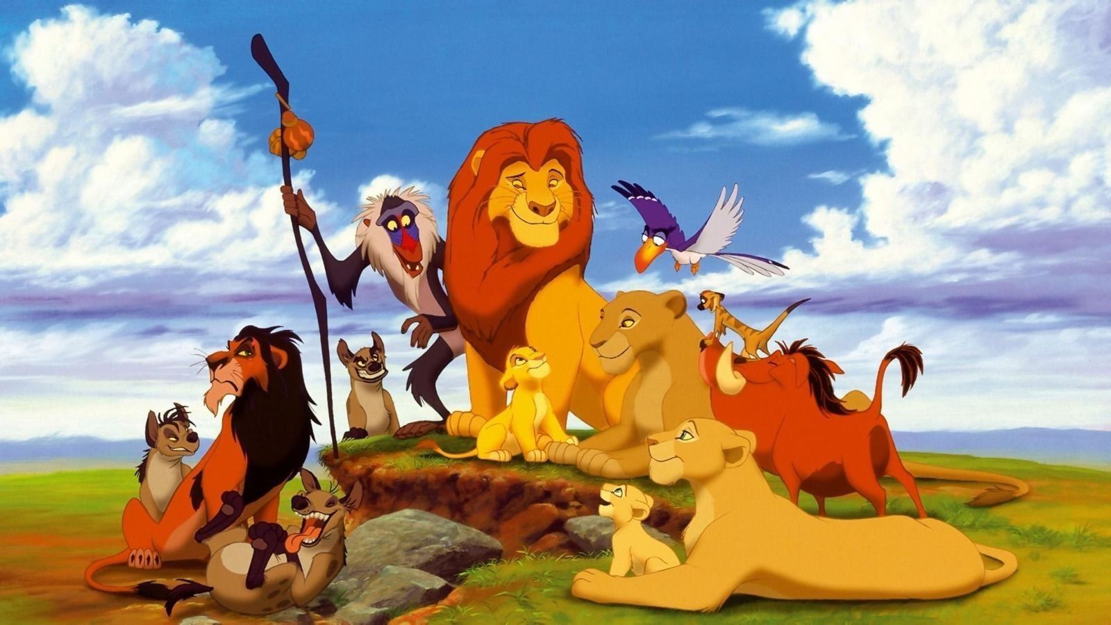 Lion King Edible Birthday Cake Topper 1//4 or 1//2 sheet Frosting
