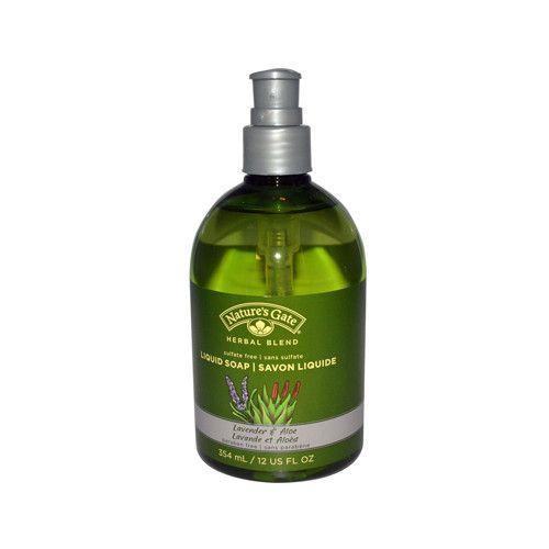 Natures Gate Organics Liquid Soap Lavender and Aloe - 12 fl oz