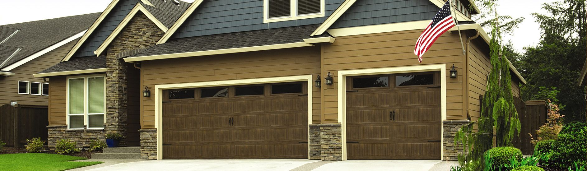 Wayne Dalton 8300 Series Sonoma Ranch Mission Oak Stockton Aspen Garage Doors Wayne Dalton Garage Doors Garage Door Repair