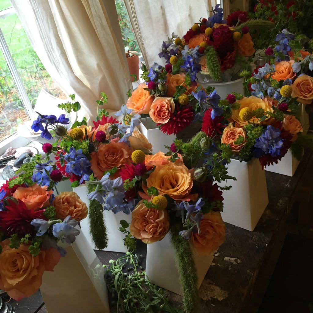Vermont Summer Wedding Flowers Floral Artistry