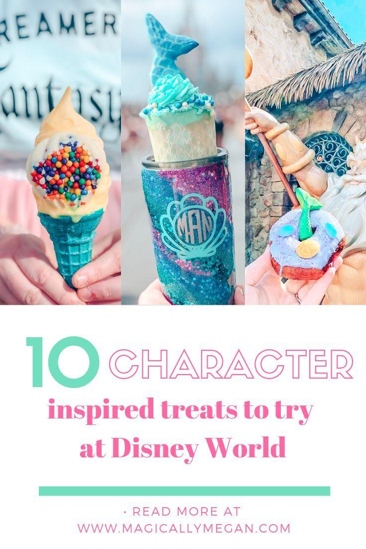 10 von Charakteren inspirierte Leckerbissen in Walt Disney World