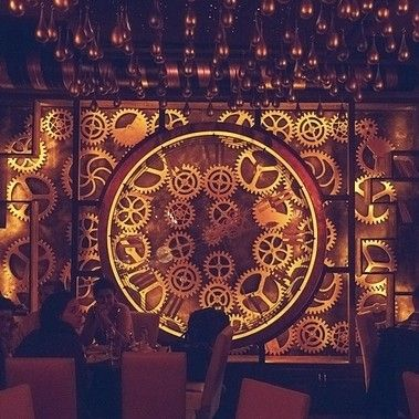 "A new cafe opened in Romania called Enigma that claims to be the worlds first kinetic steampunk bar"". via news.upperplayground.com #upnews"