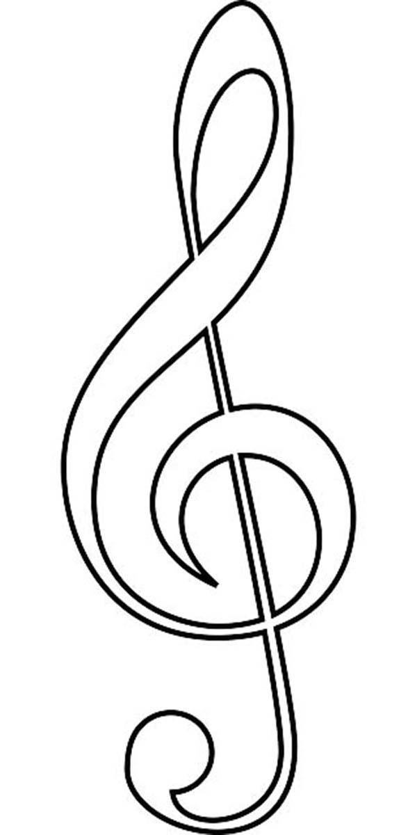 Pictures Coloring Coloring Pages Music Notes On Music Note