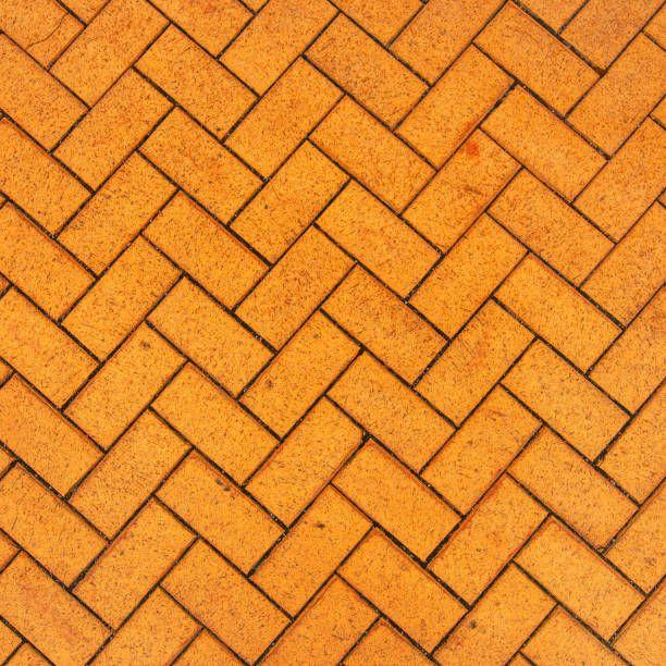 orange zigzag brick paving texture  Paving texture, Brick paving, Paving