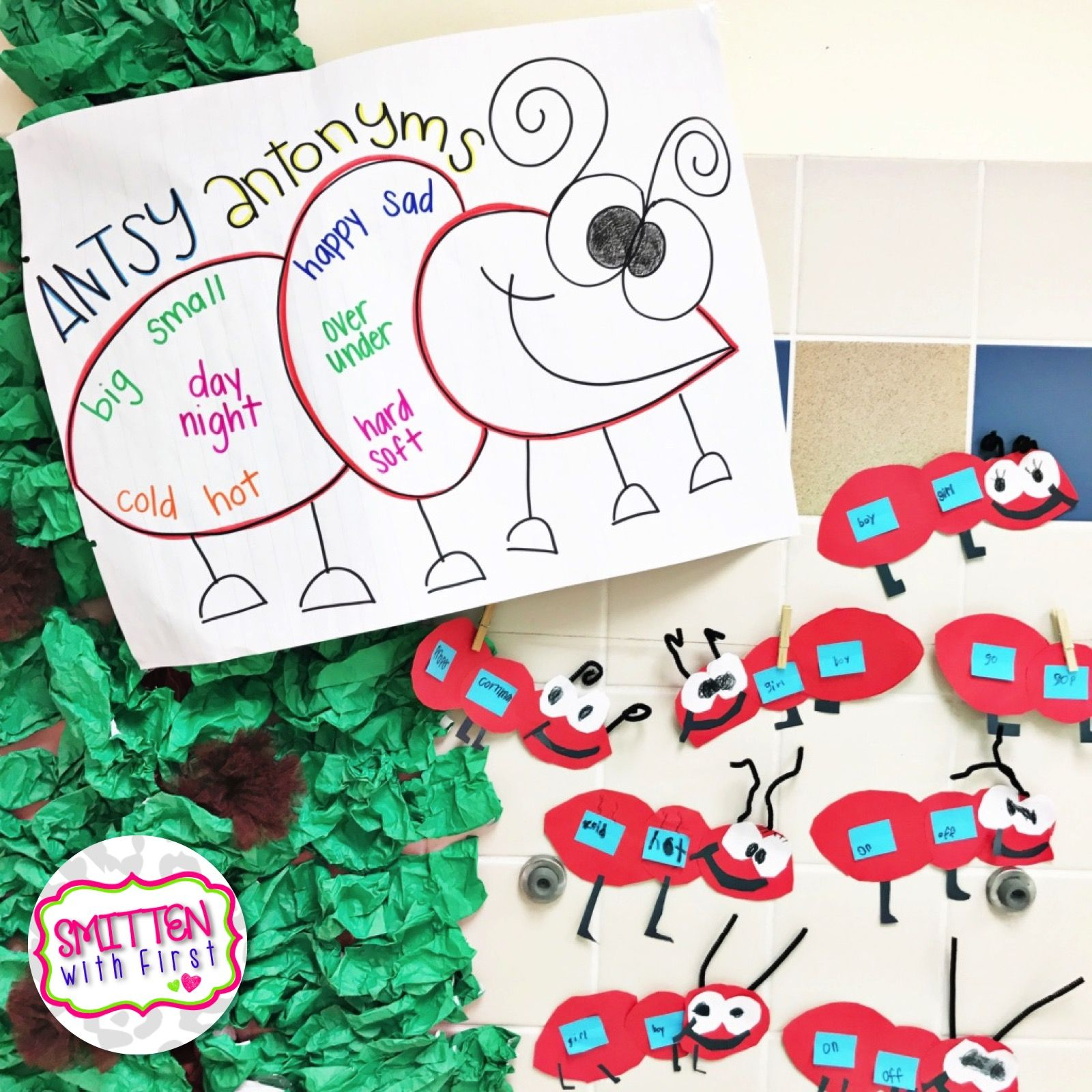 Homophones And Antonyms Free Activities For K 1st Or 2nd