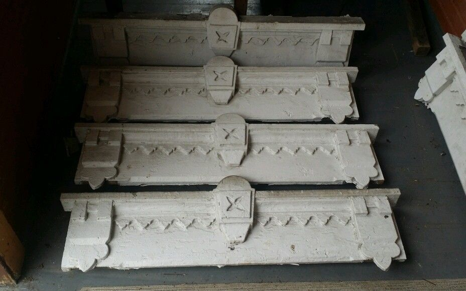 US $195.00 in Antiques, Architectural & Garden, Pediments