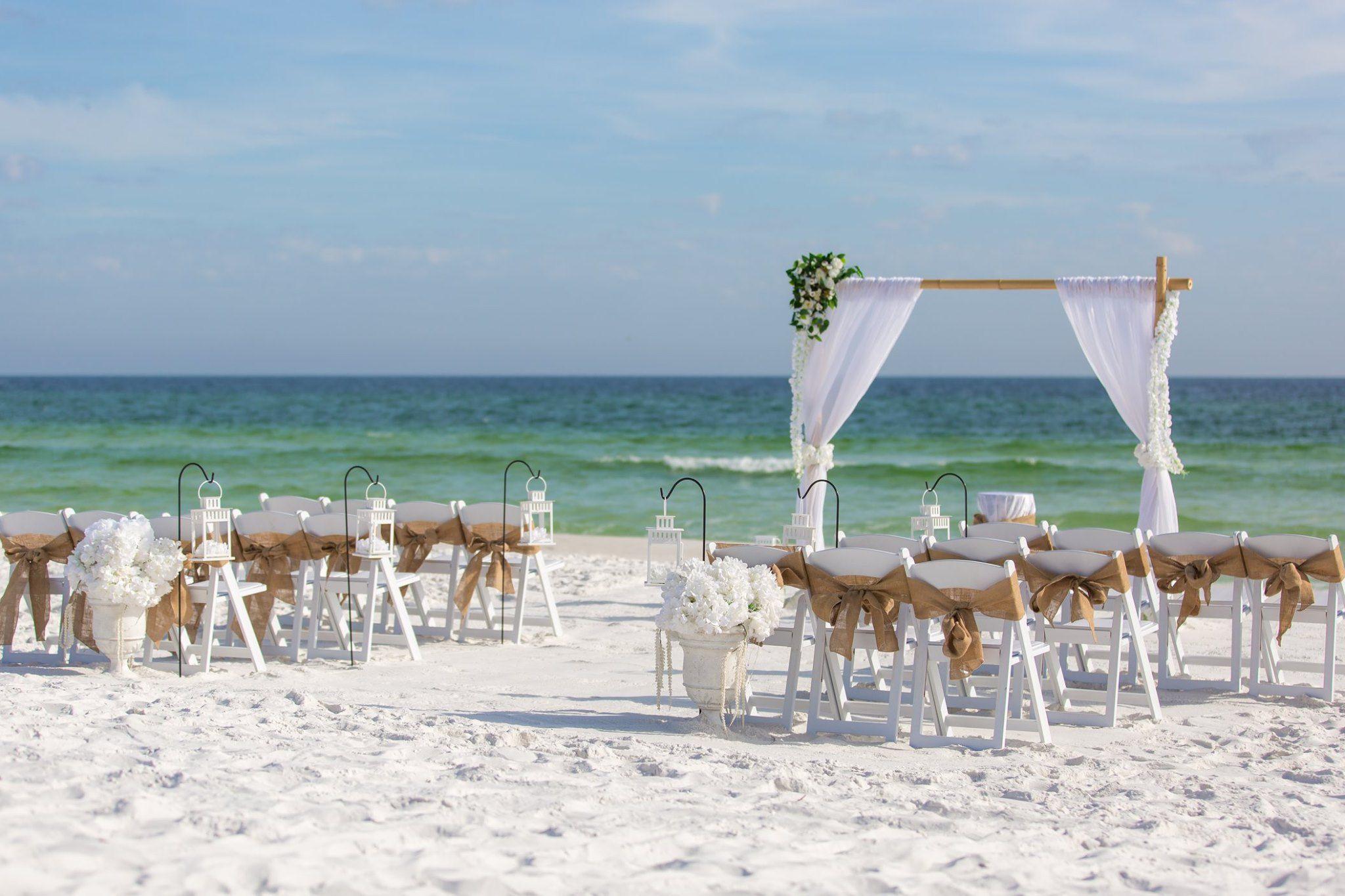 Panama City Beach Wedding In 2020 Panama City Beach Wedding Beach Wedding Beautiful Beach Wedding
