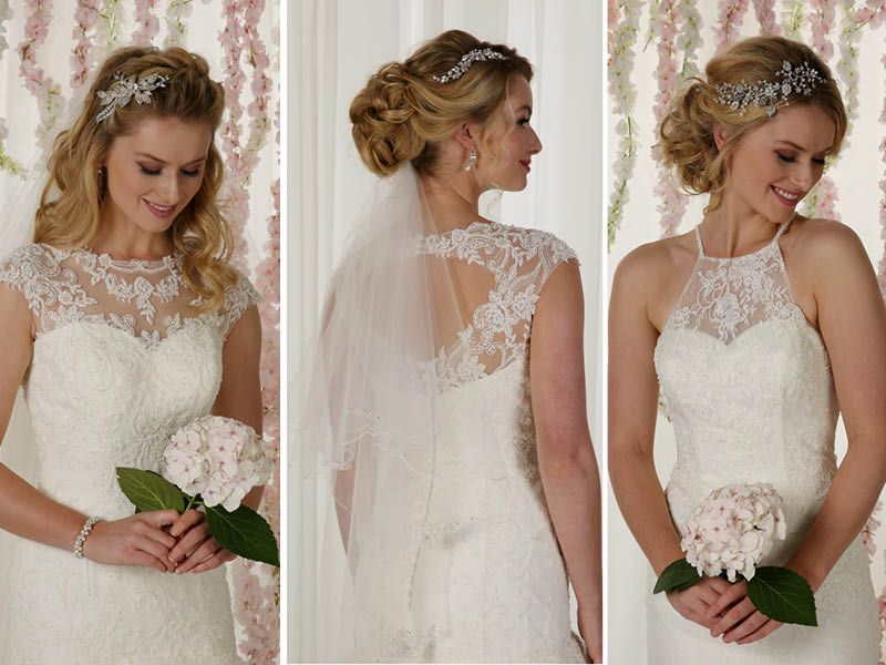 Wear A Hair Vine At The Side Of Your Up Or Down Do With Your Veil