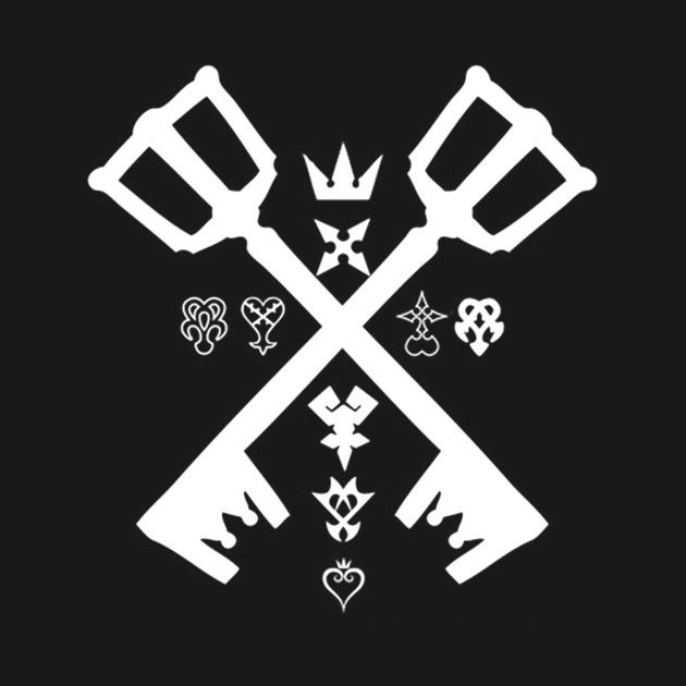Check Out This Awesome Kingdom Hearts Logo Design On Teepublic Kingdom Hearts Logo Kingdom Hearts Tattoo Kingdom Hearts Wallpaper