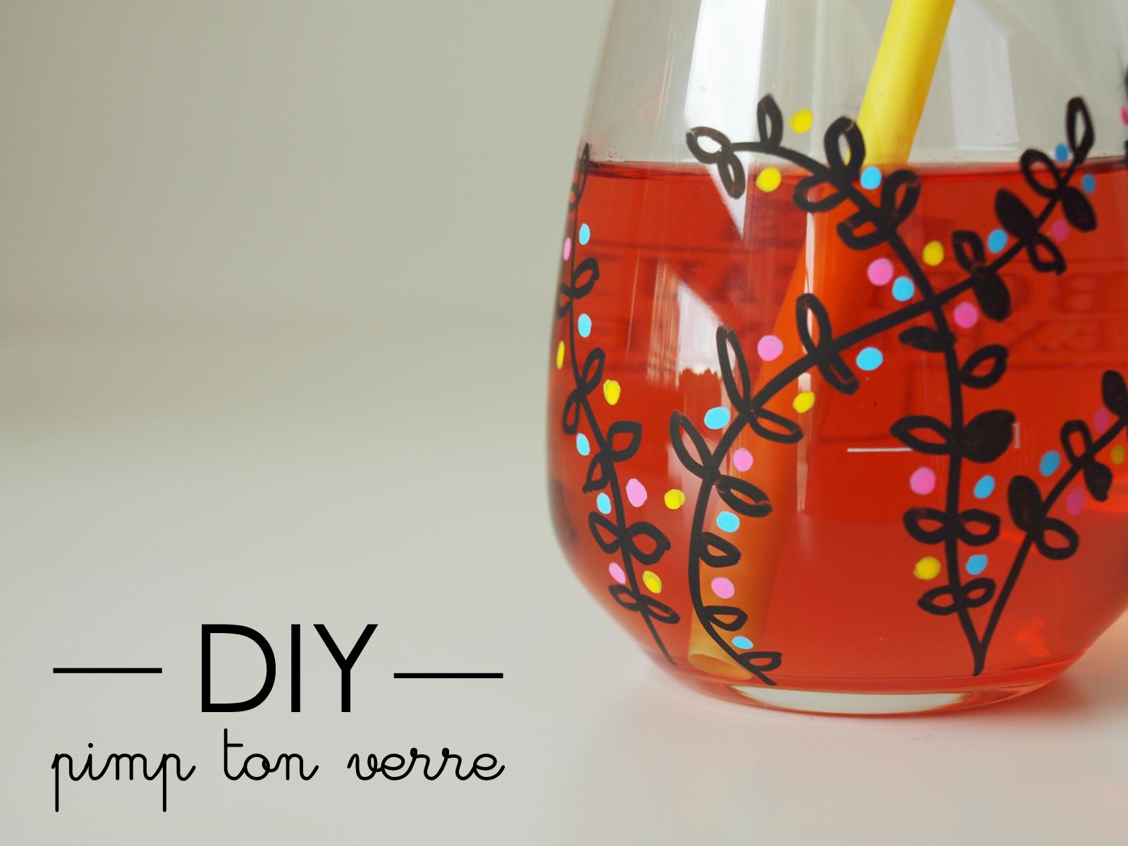 DIY Pimp my Kitchen Socoo'c verre posca