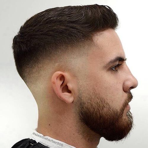 24 Crew Cut Fade Haircuts Classic Neat Look For Men Pinterest