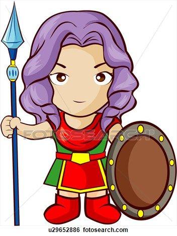 Athena Mythe Dieu Mythologie Grecque Mythique Mythologie Voir Clipart Grand Format