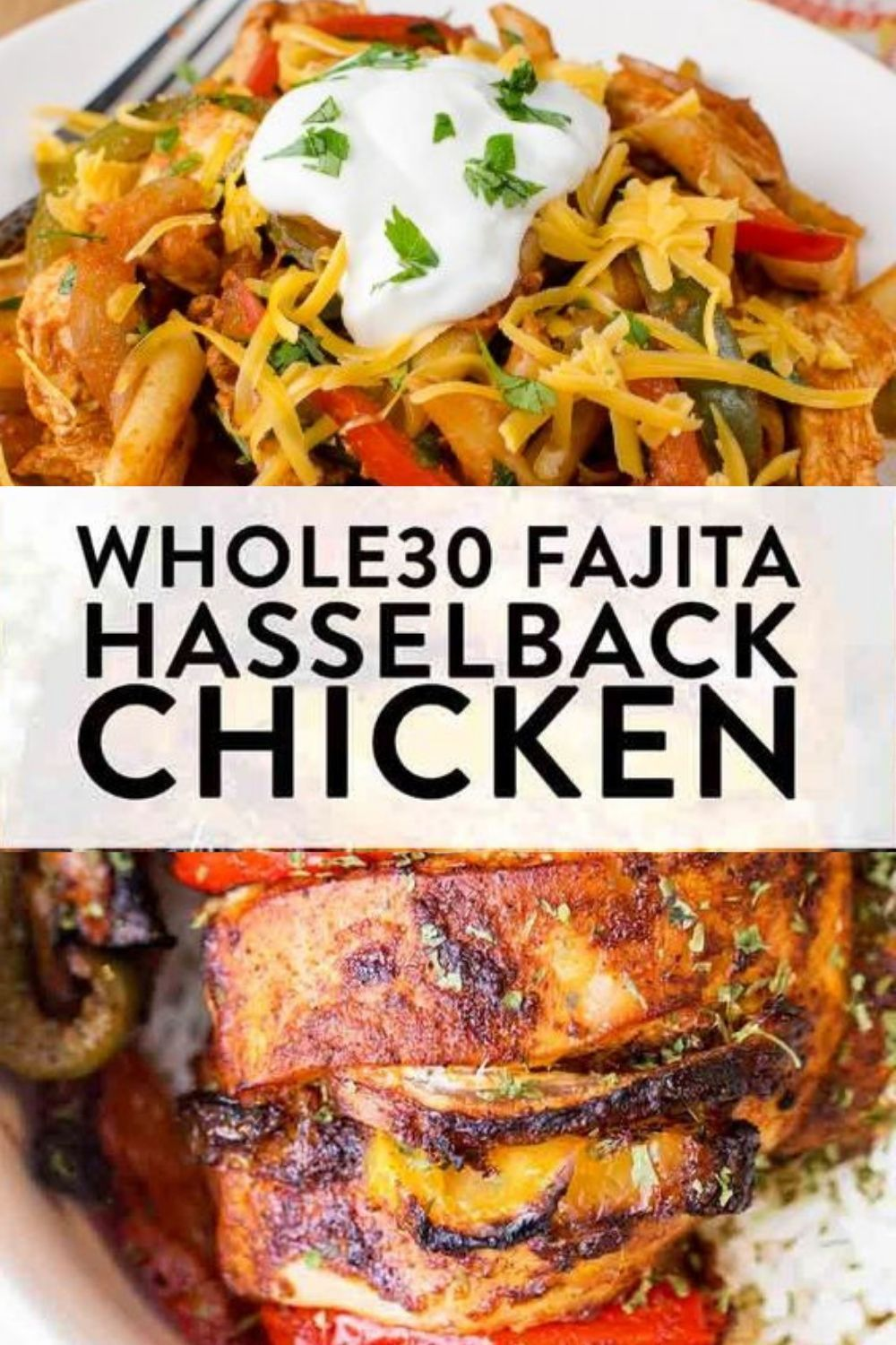 30 fajita hasselback chicken #hasselbackchicken This easy whole30 recipe for fajita hasselback chicken is a clean eating must do! A healthy, high protein,  low carb alternative to a dinner favorite is always good in my books. A twist on fajitas with the simplicity of sheet pan chicken. #hasselbackchicken 30 fajita hasselback chicken #hasselbackchicken This easy whole30 recipe for fajita hasselback chicken is a clean eating must do! A healthy, high protein,  low carb alternative to a dinner favor #hasselbackchicken