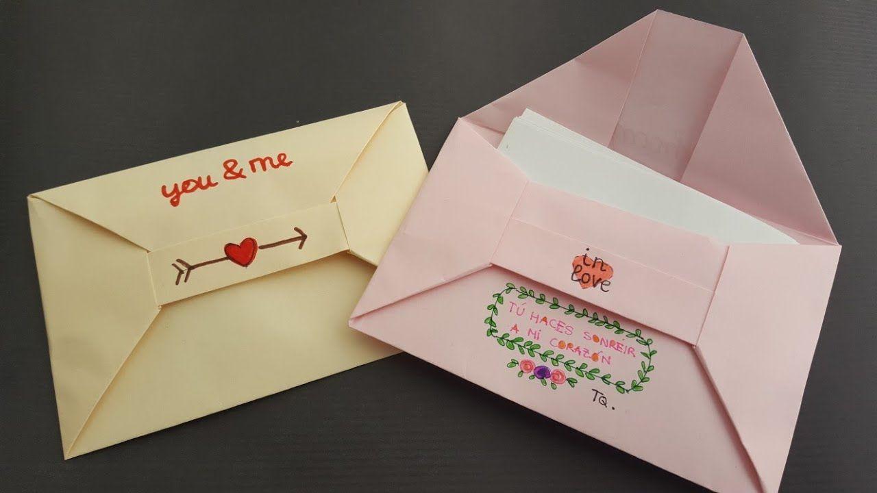 Aprende A Hacer Un Sobre Para Carta Con Un Folio Papel A4 Comparte Es Fundamental Https Youtu Be Lrax48zf8cq Carta Origami Sobre De Carta Cartas Bonitas