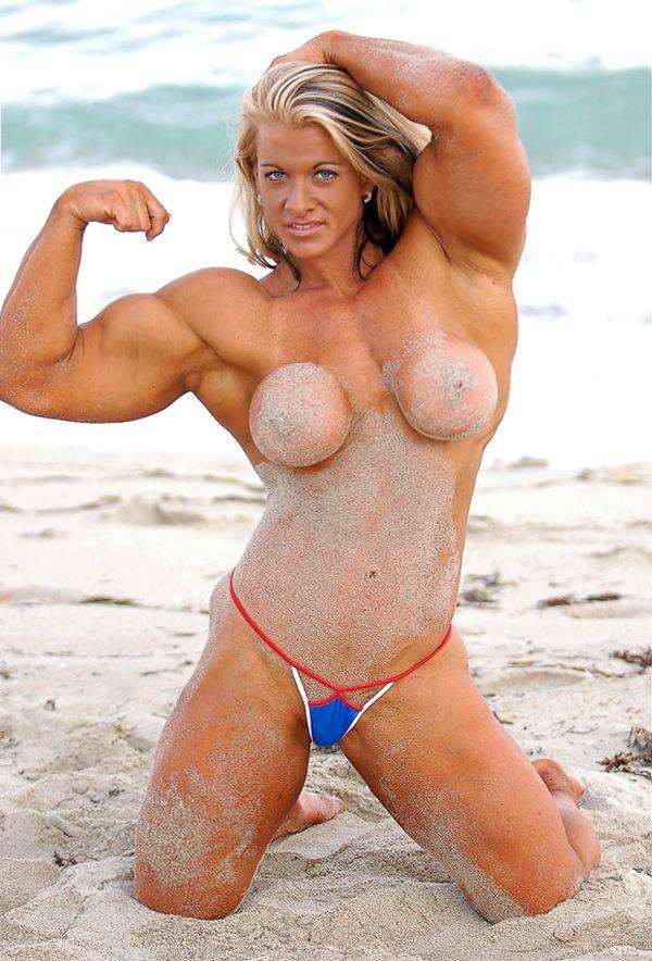 muscle women thong porn