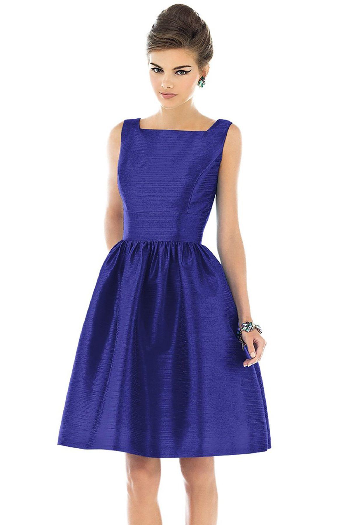 Shop Alfred Sung Bridesmaid Dress - D520 in Peau De Soie at ...