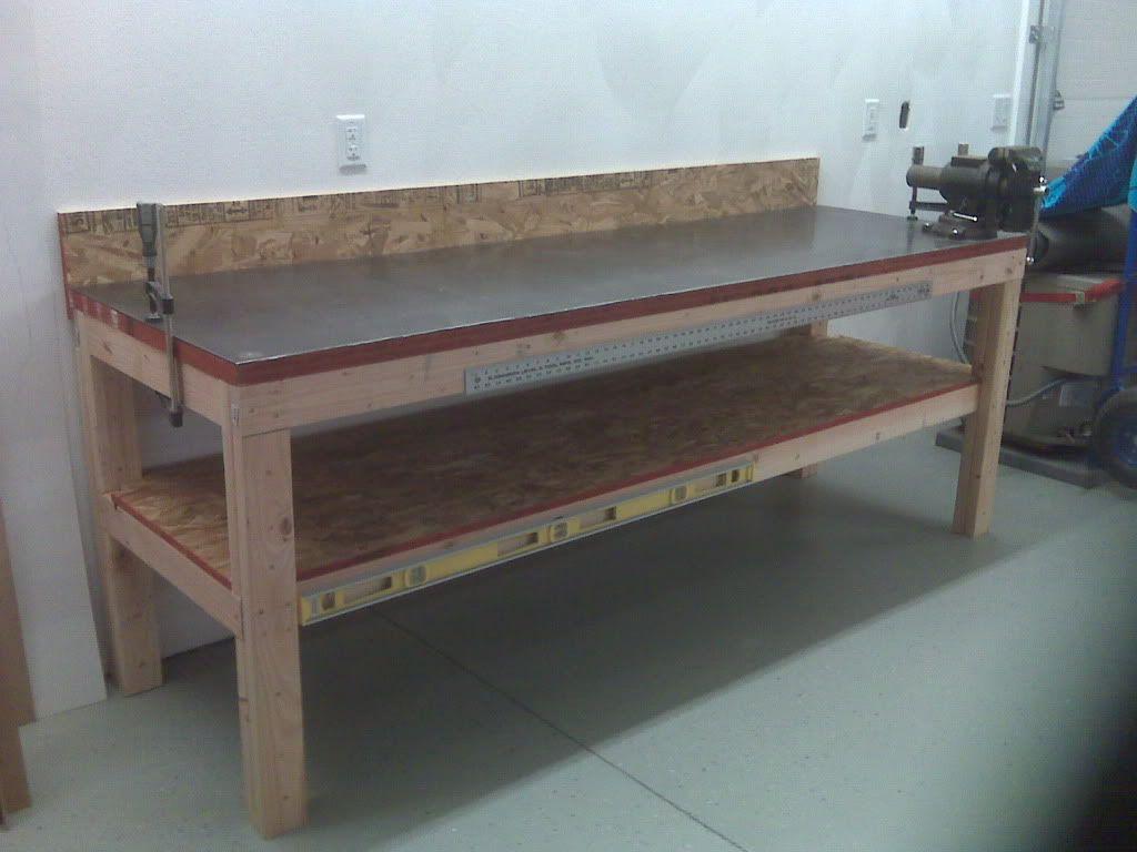 Metal Workbench Counter Metal Work Bench Garage Work Bench