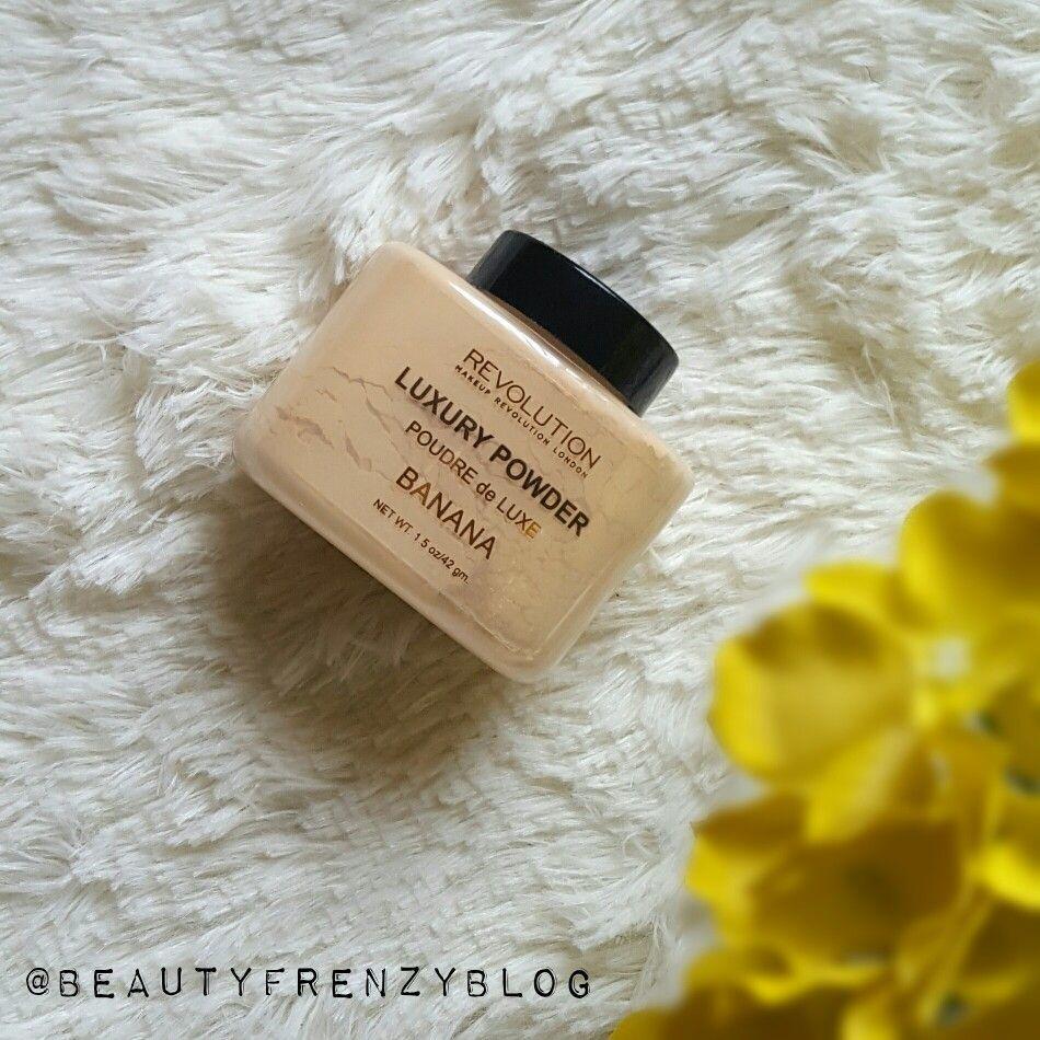 Makeup Revolution Luxury Banana Powder Review Sacha