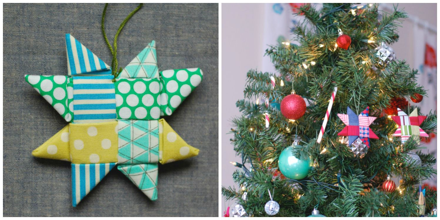 Wordpress Com Fabric Christmas Ornaments Fabric Stars Scandinavian Fabric