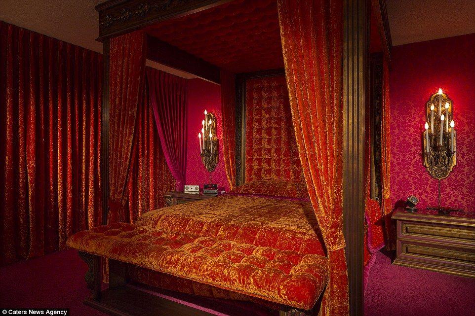 Best House Covered From Floor To Ceiling In Velvet On Sale For 400 x 300