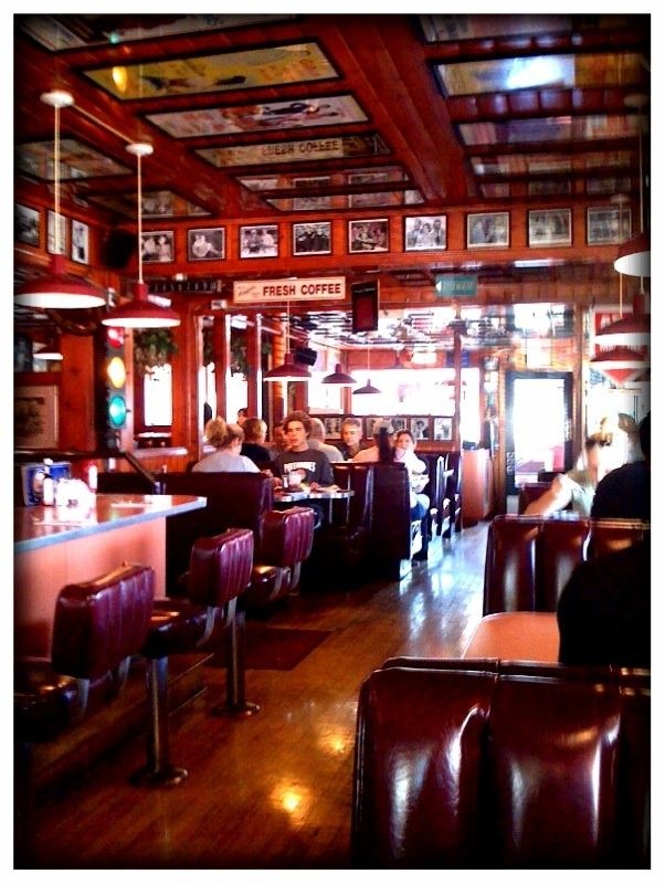 Dana Point - Harbor House Cafe for breakfast  Recommended by