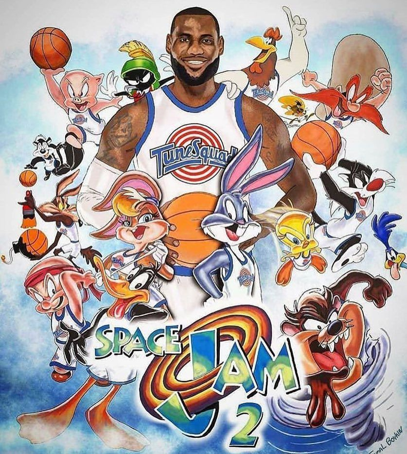 Who S Excited About Space Jam 2 Lebron James Wallpapers Lebron James Art Looney Tunes Wallpaper