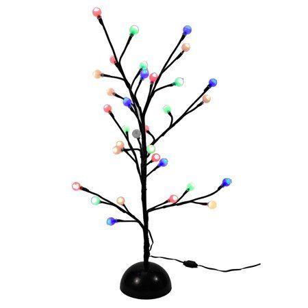 Kurt Adler 2 Multi Twinkle Led Brown Gumball Tree