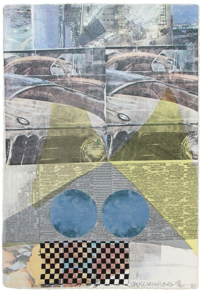 Robert Rauschenberg, Arcanum XI, 1981, Heather James Fine Art