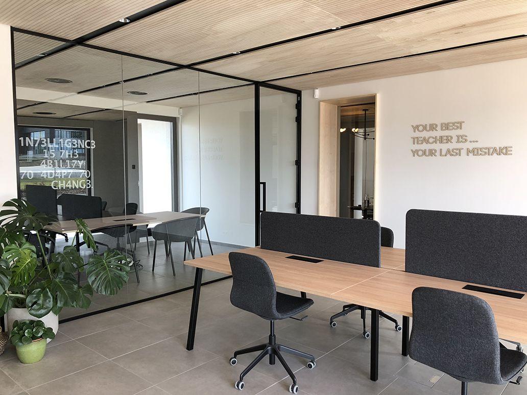 Bureau bois design de 418 m² by popup house en belgique part 10