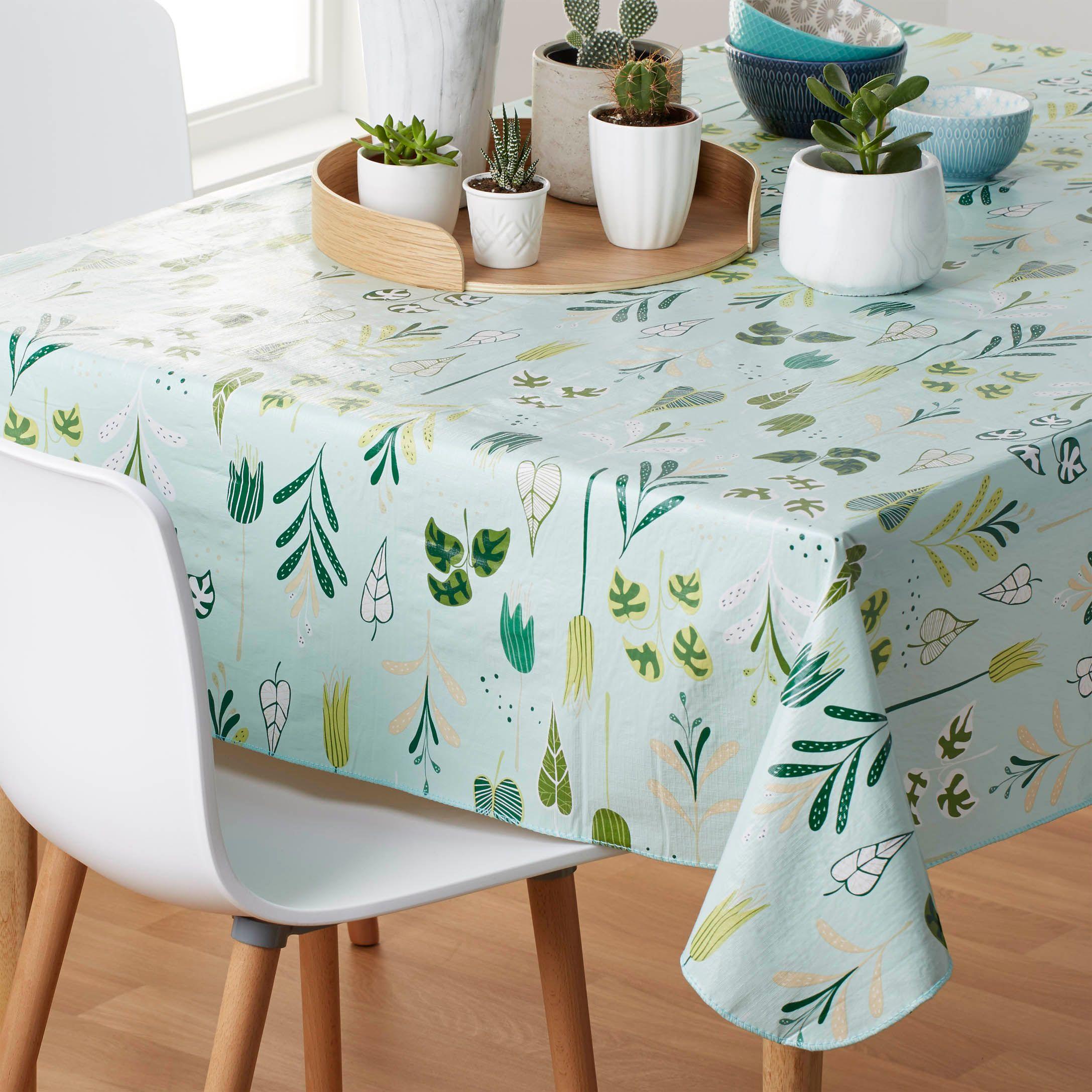 inner garden vinyl tablecloth. beautiful ideas. Home Design Ideas