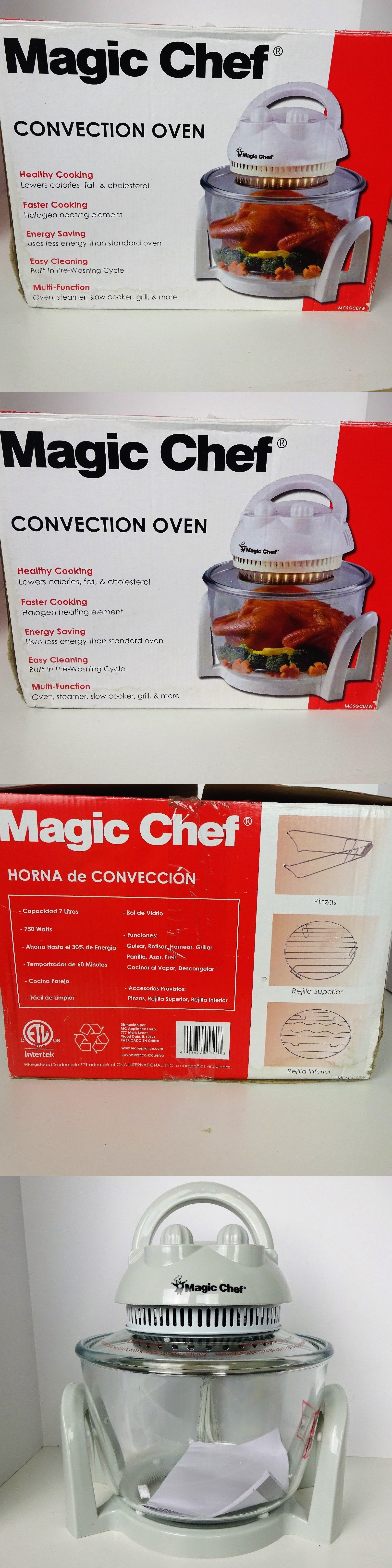 Infrared And Convection Ovens 150139 Magic Chef 7 Liters
