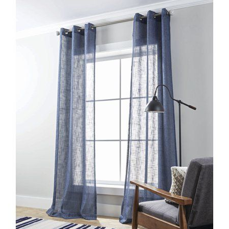 c5b433efa59ddbdcf89aab84086e7cf9 - Better Homes & Gardens Heathered Window Curtain Panel