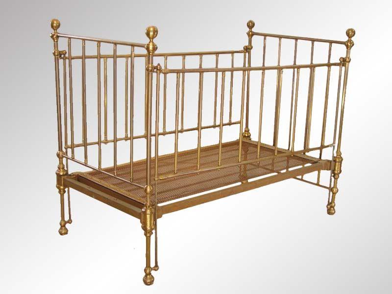 Antique Brass Baby Crib Antique Baby Cribs Cribs Antique Crib