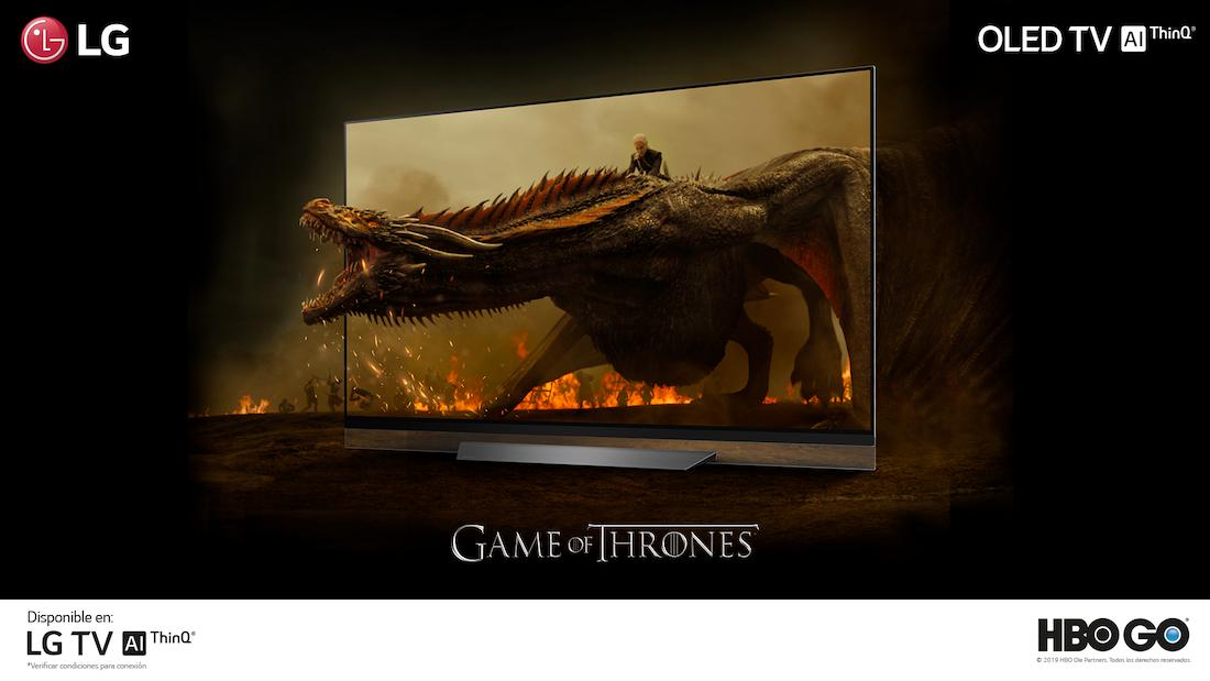 Televisores OLED de LG contarán con app de streaming HBO