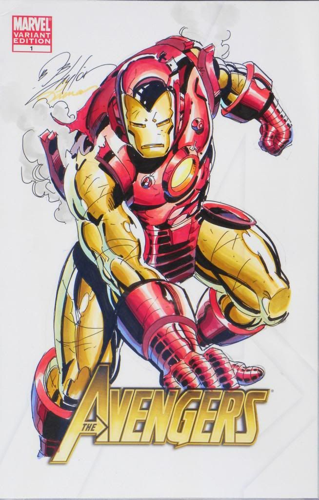 Iron Man by Bob Layton and Laura Martin *
